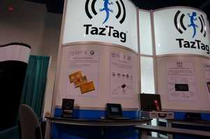 TazTag showed E-security for mobile transactions using bio-metrics.