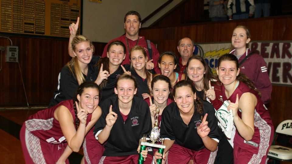 Bear River Lady Bruins basketball team