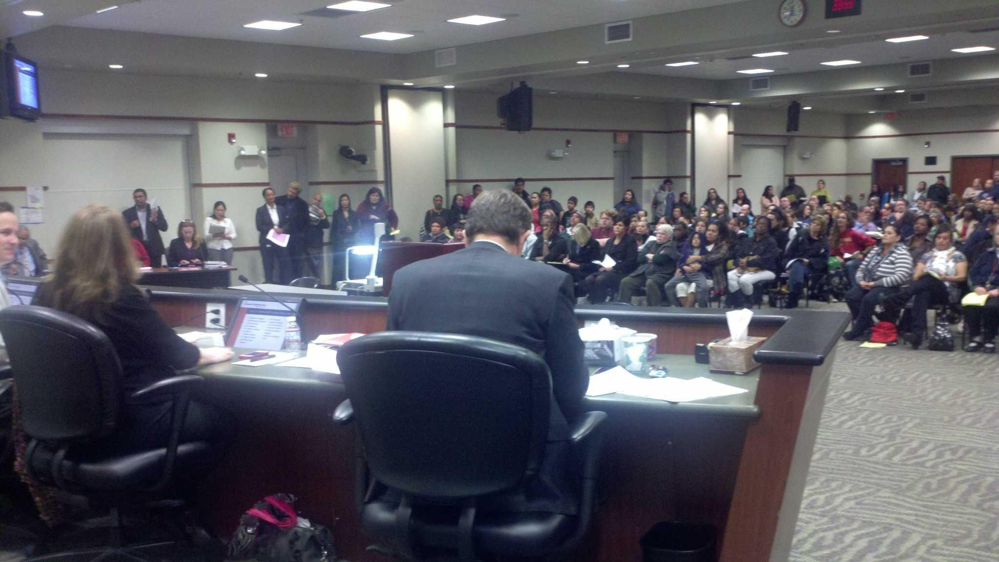 Sacramento School Board meeting 1