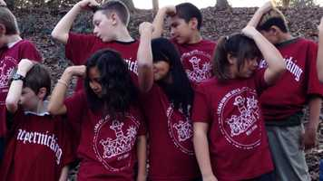 The little heart warriors from Camp Taylor are rooting for their friend and hero, Colin Kaepernick, in Sunday's NFC Championship . Kaepernick supports Camp Taylor, a camp for children with heart disease.