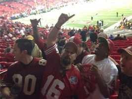 Celebration for Niner fans in Atlanta