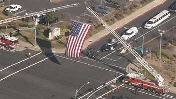 A memorial service was held in Roseville on Monday for fallen Galt Police Officer Kevin Tonn. (January 21, 2013)