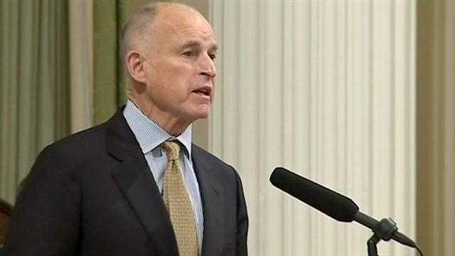 Gov. Brown calls for aggressive agenda in address
