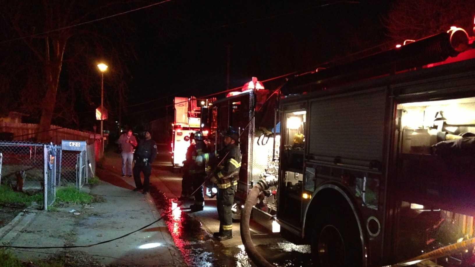 Kesner Ave. Fire