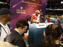 Super Bowl Media Day (Jan. 29, 2013)