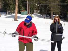 The latest Department of Water Resources snow survey in the Sierra demonstrated just how dramatically the mountain landscape has changed in just one month.