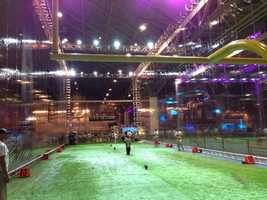 A look at the NFL Fan Fest. (January 30, 2013)