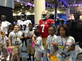 The Super Bowl Play 60 Experience. (January 30, 2013)
