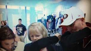 "KCRA 3's Lisa Gonzales ""Kaepernicks"" with Colin Kaepernick's parents in New Orleans, ahead of the Super Bowl (Jan. 30, 2013)."
