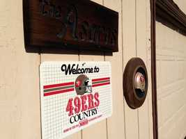 5141 Glancy Road is the place to be for 49ers fans.