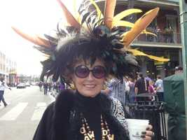 Feathers and all, New Orleans is always ready to party (Feb. 2, 2013).