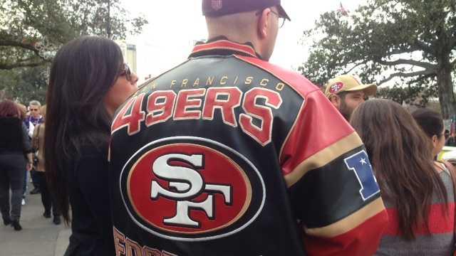 49er fans
