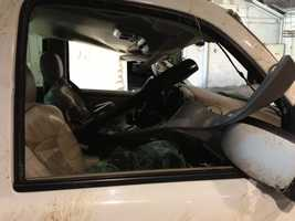 In all, two boys and four girls between the ages of 13 and 17 were inside the vehicle, CHP said.