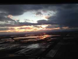 KCRA 3 photographer Sam Gonzalez snapped some photos of the changing clouds from LiveCopter on Thursday evening (Feb. 7, 2013).