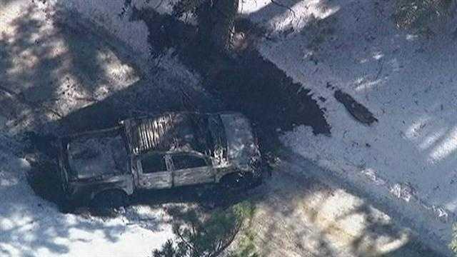 L.A.P.D. searched for former officer Christopher Dorner near Big Bear Ski Resort where they found Dorner's burned out truck.
