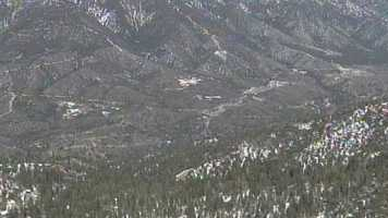 The shots were heard at the Seven Oaks Mountain Cabins near the Big Bear resort.