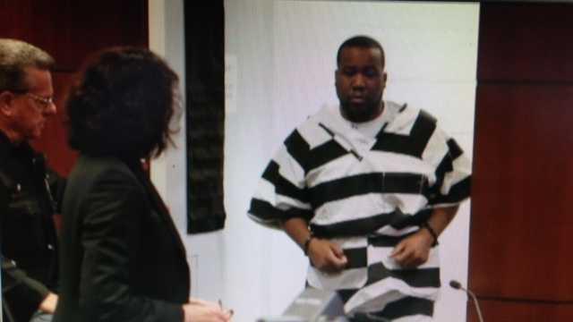 Anthony Lamar Jones was in court Wednesday (Feb. 13, 2013).
