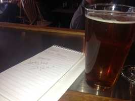 KCRA, taking diligent notes at Rubicon Brewing Company, where the most popular beer is called Monkey Knife Fight, according to owner Glynn Phillips.
