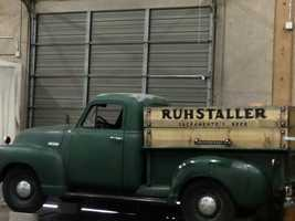 The Ruhstaller name is displayed on an old pickup truck that sits at Verge Center for the Arts, a building in downtown Sacramento rented by artists. Click here for more information on this event, and others this weekend.