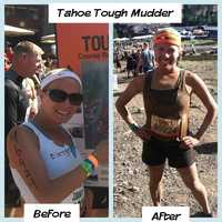 11.) I survived the Tahoe Tough Mudder race.