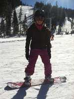 14.) When I go to Tahoe in the winter, I have to snowboard.