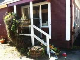 Baker and Butler were murdered at this doorstep at 882 Branciforte Dr. in Santa Cruz by a former U.S. Army soldier on Feb. 26, 2013.