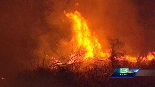 Riverside County wildfire. (Feb. 28, 2013)
