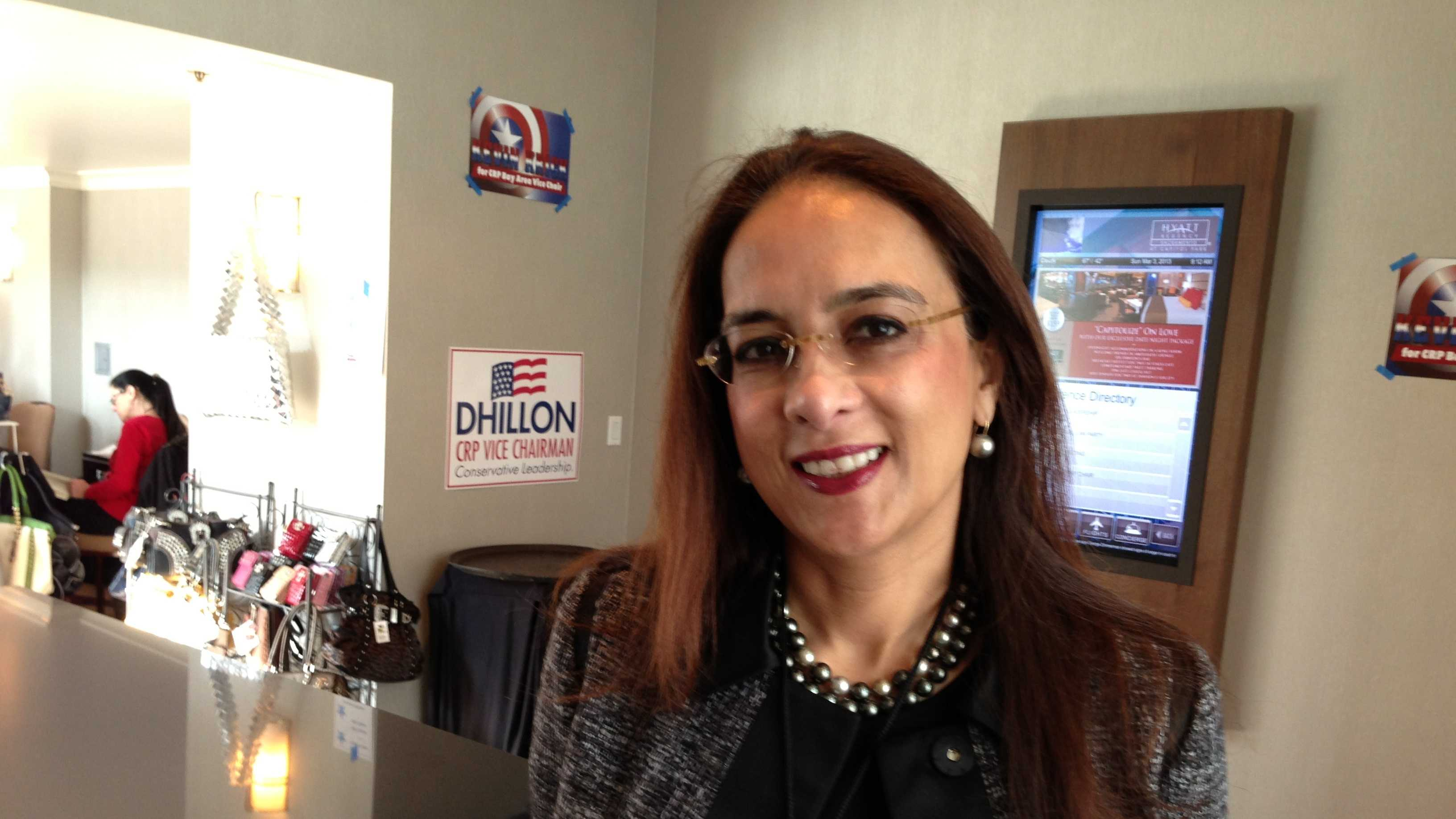 Harmeet Dhillon of San Francisco is a candidate for Vice Chairman of the California Republican Party.
