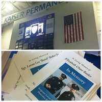 A local memorial was also held Thursday at the Kaiser PermanenteCenter in Santa Cruz.