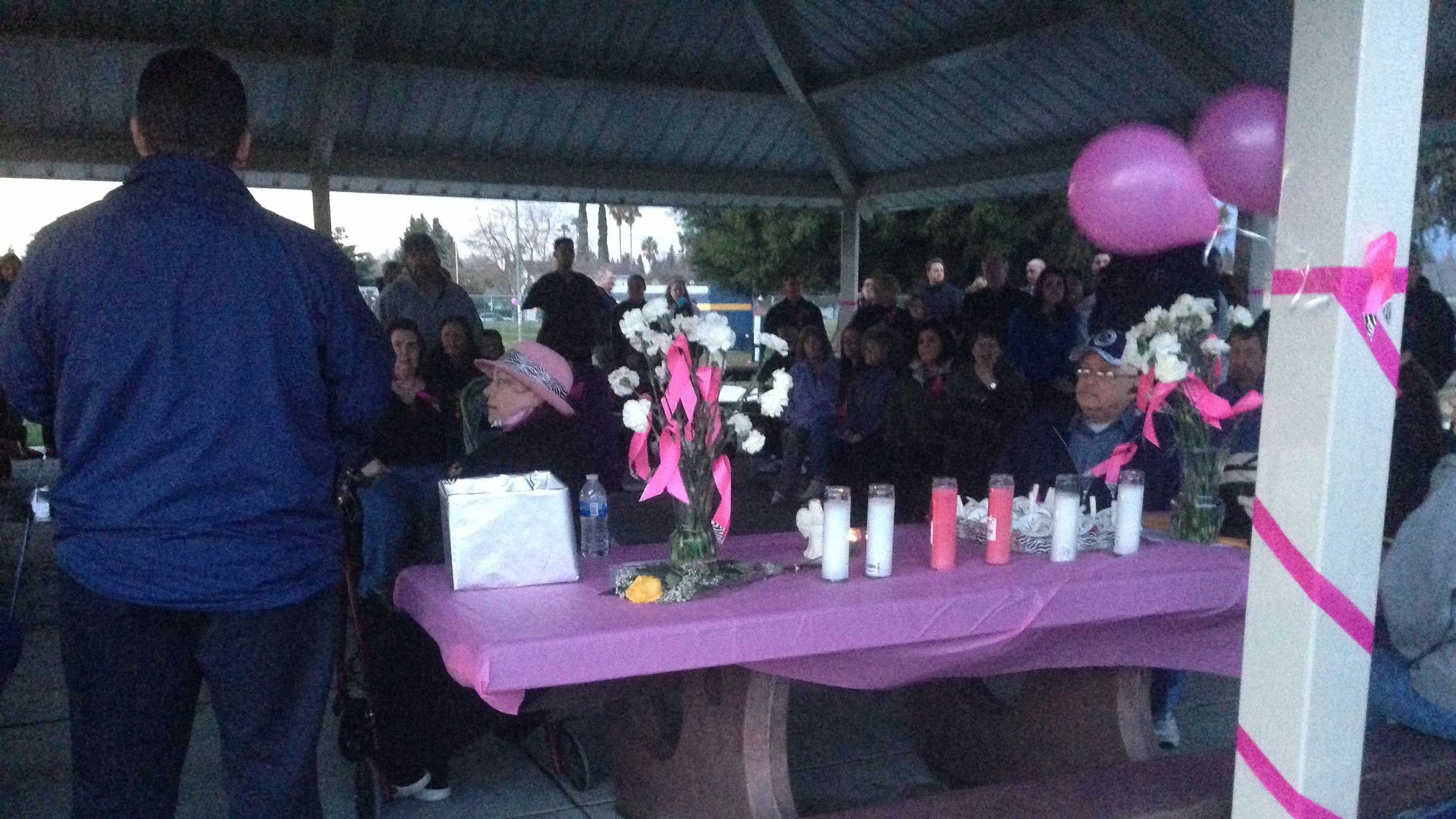 A vigil was held Thursday in memory of Jessica Funk-Haslam, 13, whose body was found one year ago at Rosemont Community Park. Police still don't know who would have killed the girl (March 7, 2013).