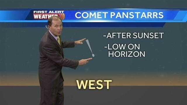 A comet is expected to be visible in the Sacramento sky on Tuesday night. KCRA 3 chief meteorologist Mark Finan explains the best time to check it out.
