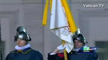 The Papal Swiss Gaurd was founded in 1506 and serves to protect Vatican City.