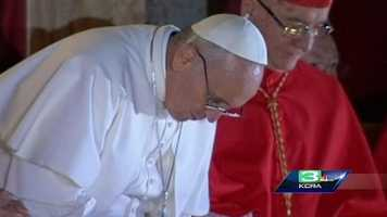 Jorge Mario Bergoglio, a Jesuit from Latin America, is selected Pope.