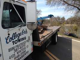 A body and vehicle were recovered following reports that a vehicle with a woman inside became submerged under water in the Sacramento River on Wednesday. Read full story