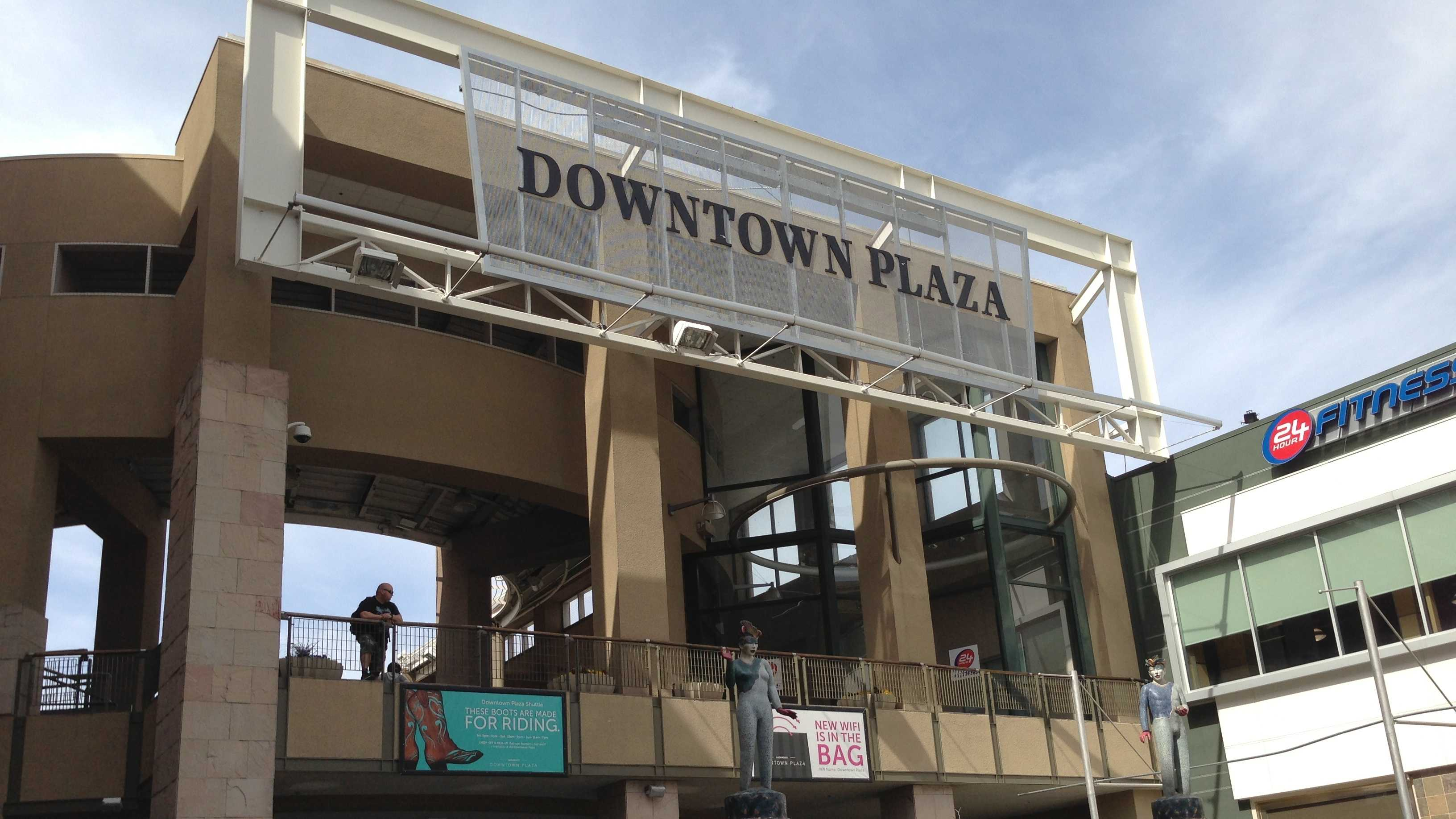 The Downtown Plaza is made up of a dozen of property parcels.