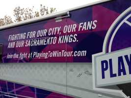 "As for Carmichael Dave's message? ""Fighting for our city, our fans and our Sacramento Kings."""