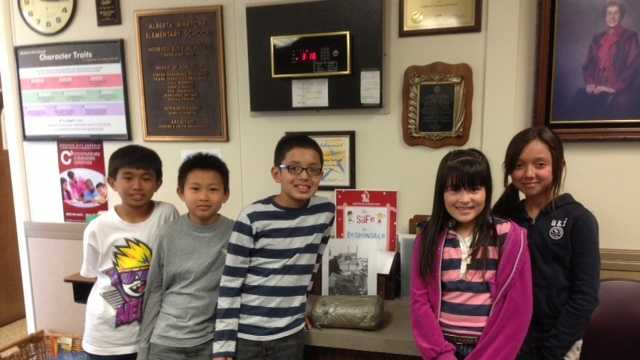 Time capsule recovered at Martone Elementary