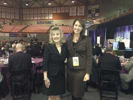 KCRA 3 Anchor Edie Lambert with 9th U.S. Circuit Appellate Court Judge Consuelo Callahan.