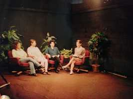 4.) While a student at UC Berkeley, I helped start the first undergrad TV station: KLTV. As one of the founders, I helped produce and host our first TV show series. It was a weekly show that focused on topical, controversial issues. We taped it live at Berkeley Community Cable. I'm on the far right in this picture. This was my first time on TV.