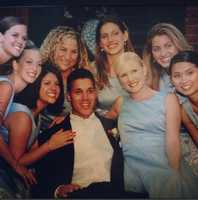 11.) I have been blessed with the most amazing girlfriends, sisters and cousins. I'm extremely grateful for their love and friendship through the years. From left to right: Kelly, Aletta, Renee, Heidi, Mattea, Faith, Marianne and Mae (with my husband, Carlos, on our wedding day. This was a tough picture for him, lol).