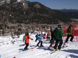 Photos from Friday's action at the U.S. Alpine Championships at Squaw Valley Resort. (March 22, 2013)