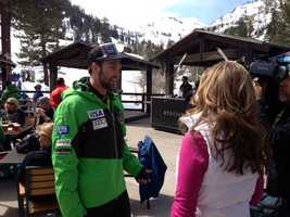Travis Ganong grew up just minutes from Squaw Valley Resort.