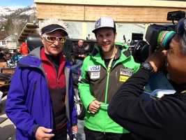 Photos from Friday's action at the US Alpine Championships at Squaw Valley Resort. (March 22, 2013)