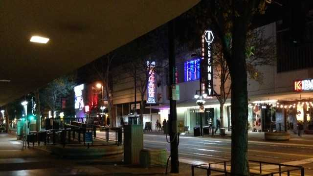 Some local businesses are supporting a plan for a new arena in Downtown Plaza, hoping it will revitalize the area.