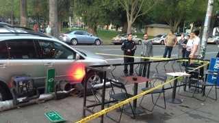 Midtown crash