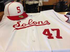 The Sacramento River Cats will play in Solons uniforms on Mondays celebrating the city's baseball history.