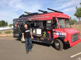 The Wicked Wich mobile food truck will bring it's famous sandwiches to Raley Field's Solon Club.