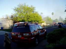The Folsom fire chief said officials are still investigating the cause of the flames.
