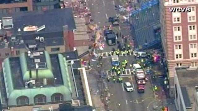 Boston Marathon explosion 5