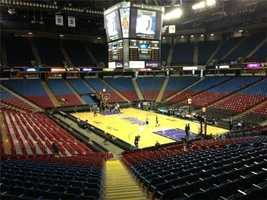 Final yearOct. 28, 2015 -- The Sacramento Kings prepare to play their final regular-season game at the Natomas arena as they welcome the Los Angeles Clippers.